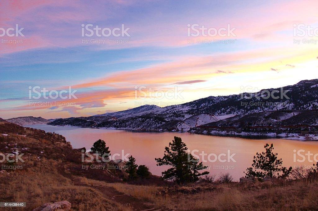 Western Reservoir stock photo