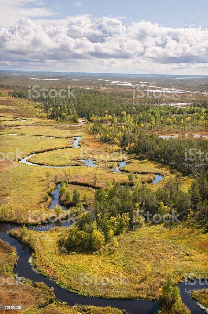 Western Siberia. royalty-free stock photo
