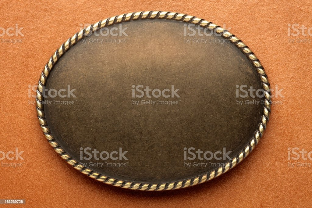 Western Style Frame stock photo