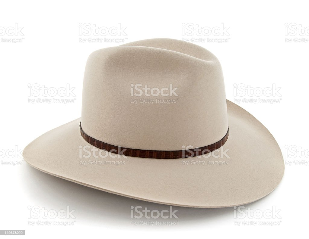 Western style hat royalty-free stock photo