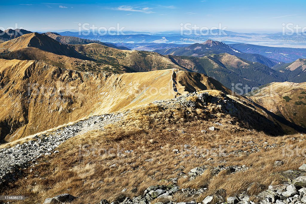 Western Tatra Mountains royalty-free stock photo