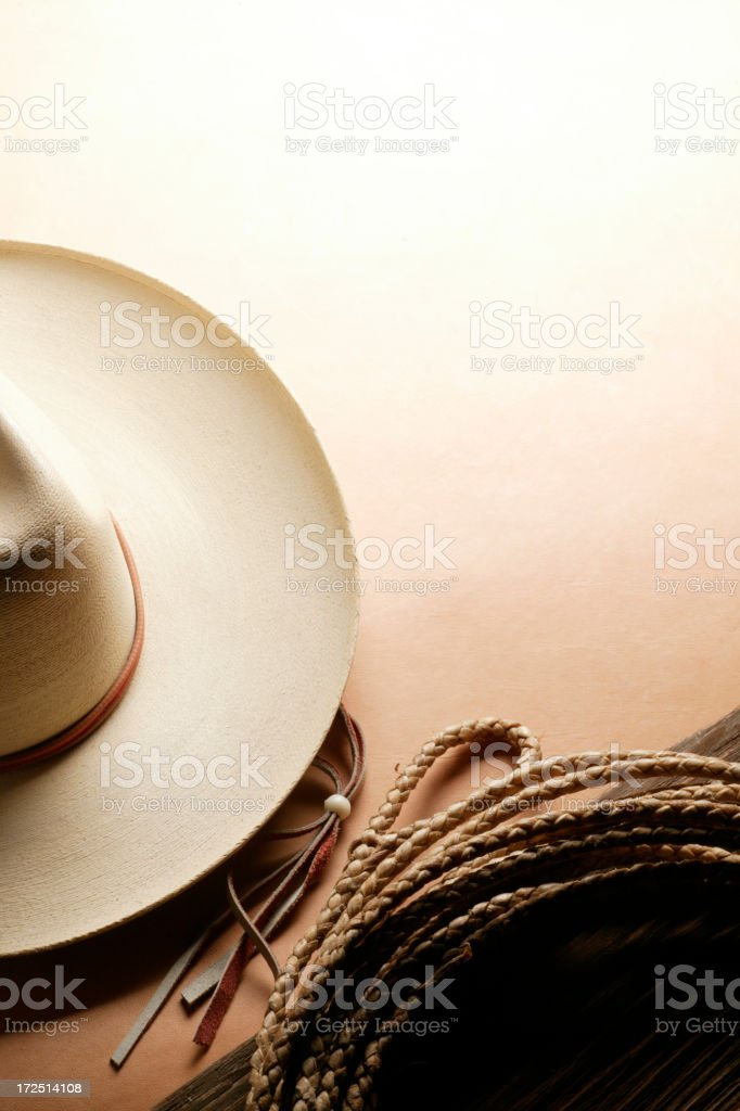 Western Theme royalty-free stock photo