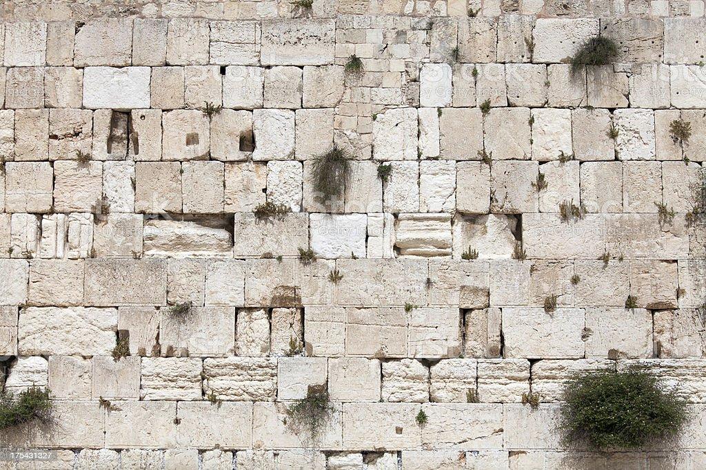Western wall, Jerusalem, Israel stock photo