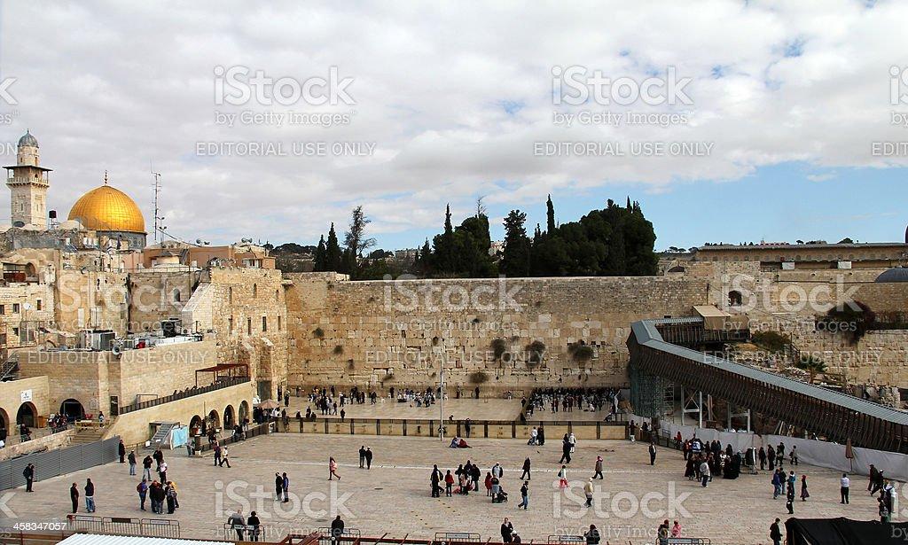 Western Wall. Jerusalem royalty-free stock photo
