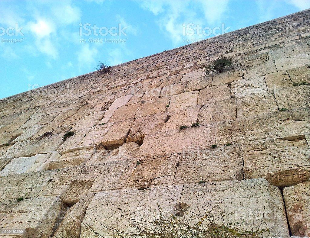 Western Wall, Jerusalem stock photo
