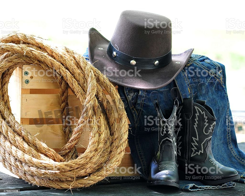 Western Wear Country look stock photo