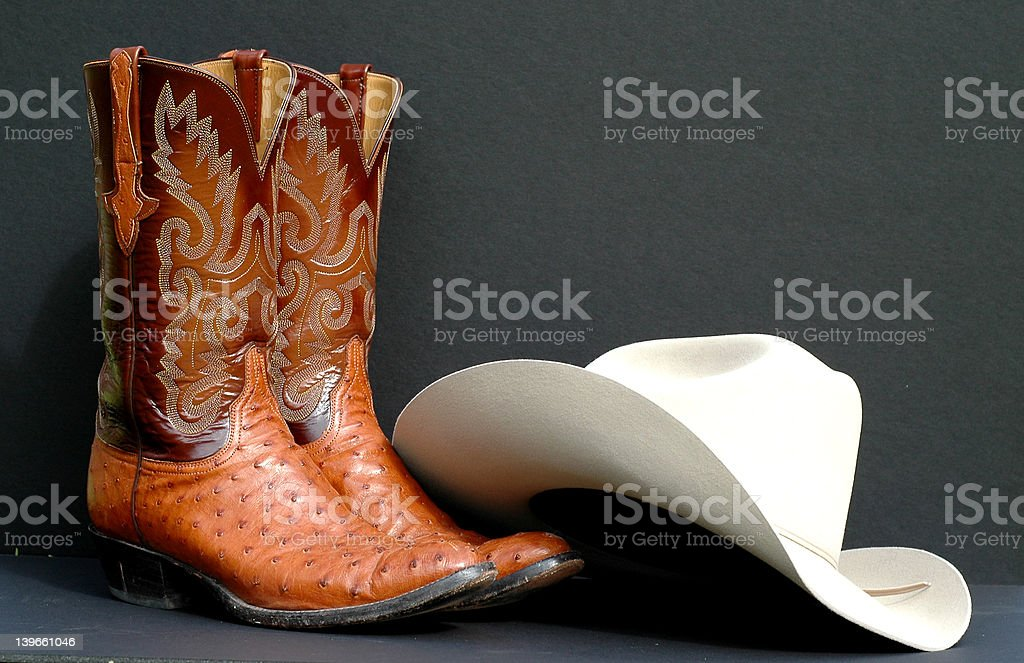 Western Wear royalty-free stock photo