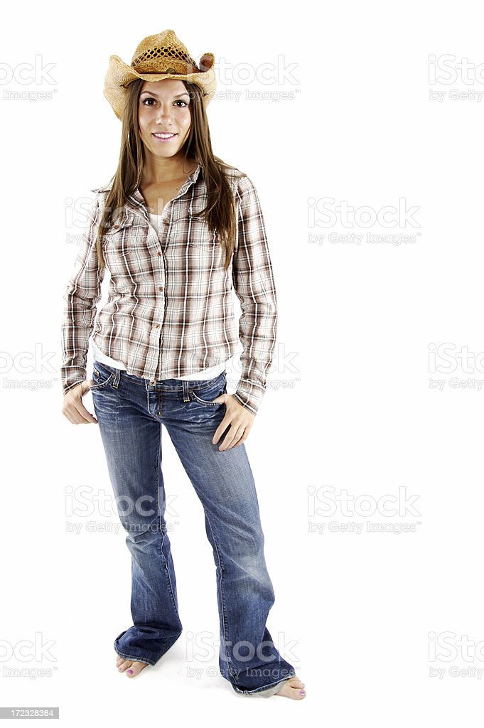 Western Woman royalty-free stock photo