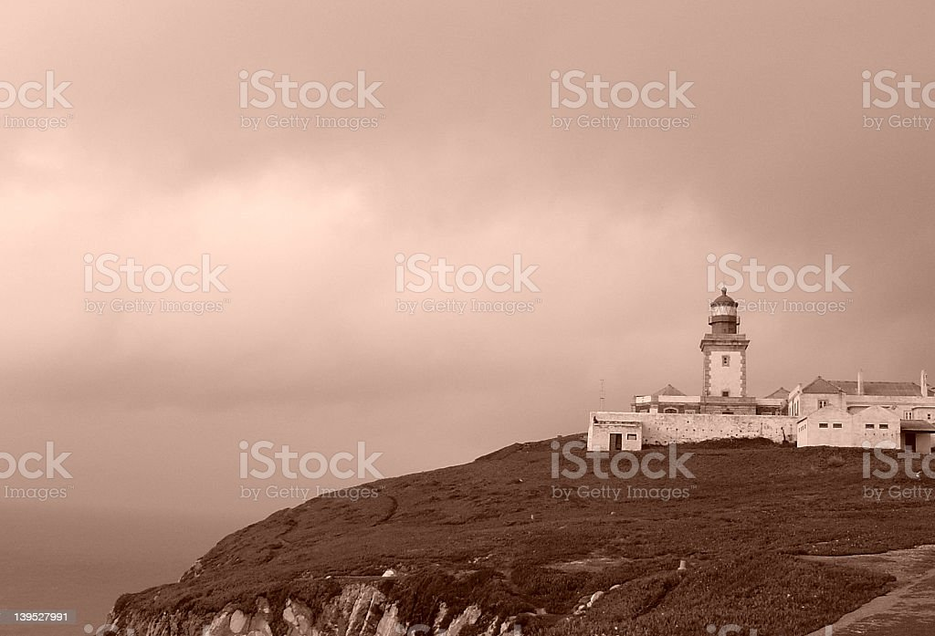 Westernmost point in Europe stock photo