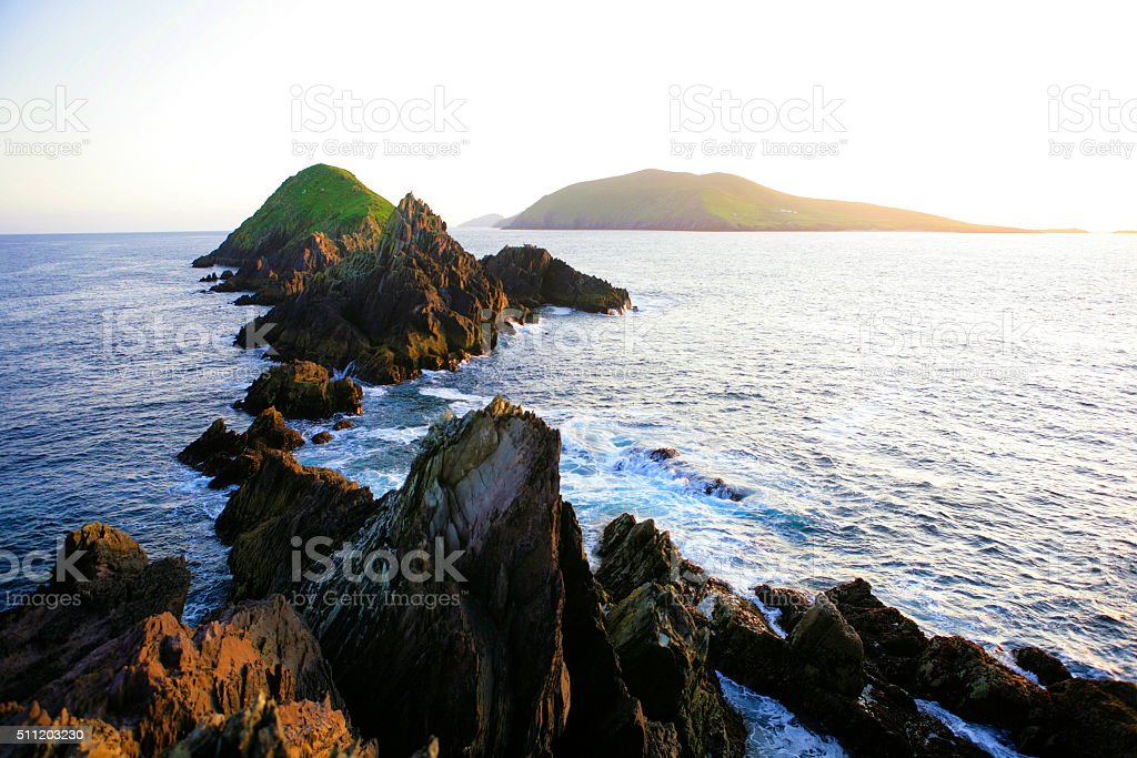 Westernmost point of Europe - Ireland stock photo