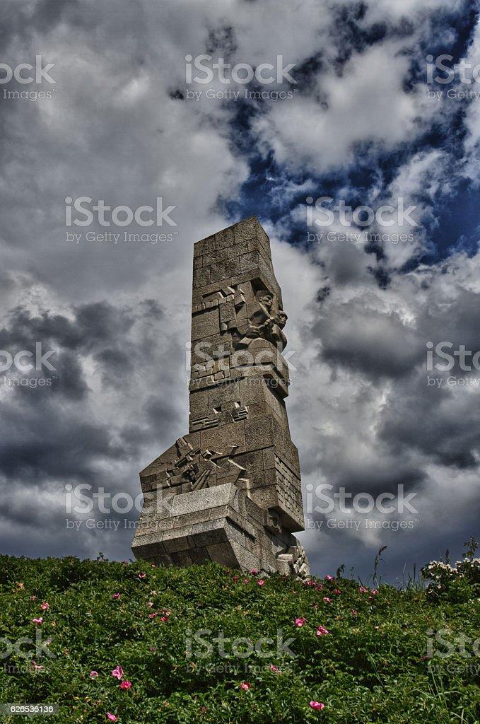 Westerplatte stock photo