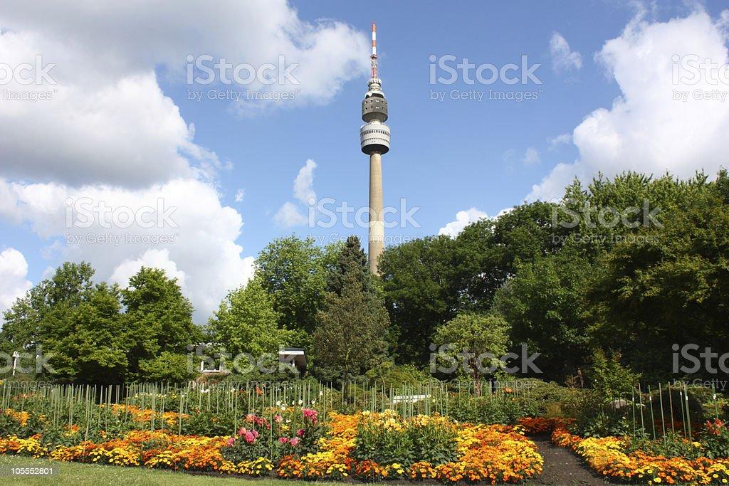 Westfalenpark stock photo