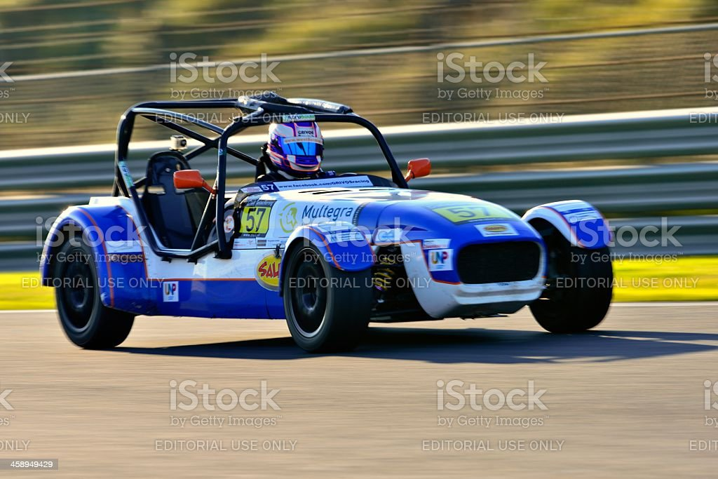 Westfield race car royalty-free stock photo