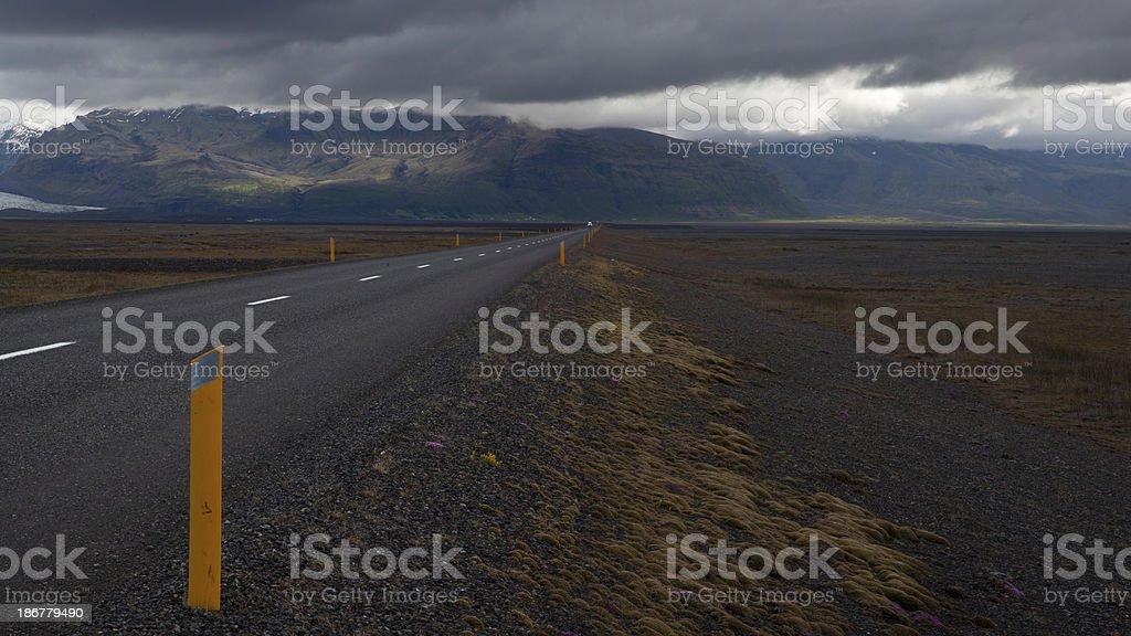 Westfjords Road Iceland royalty-free stock photo