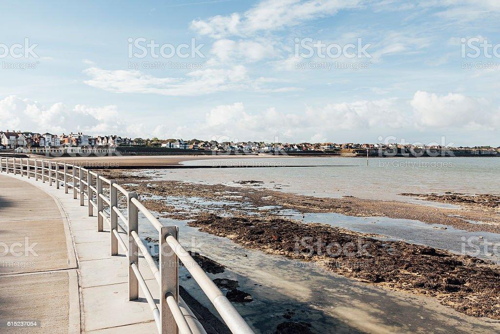 Westgate Bay near Margate in Kent, South-east England, UK stock photo