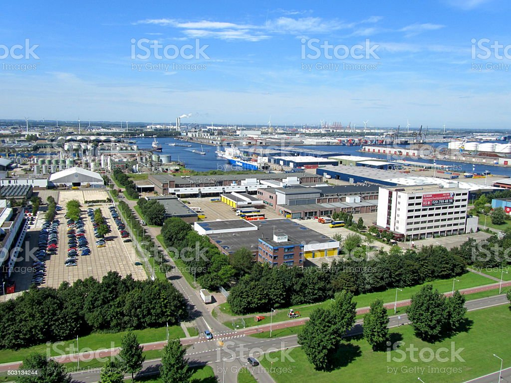 Westhaven - Port of Amsterdam stock photo