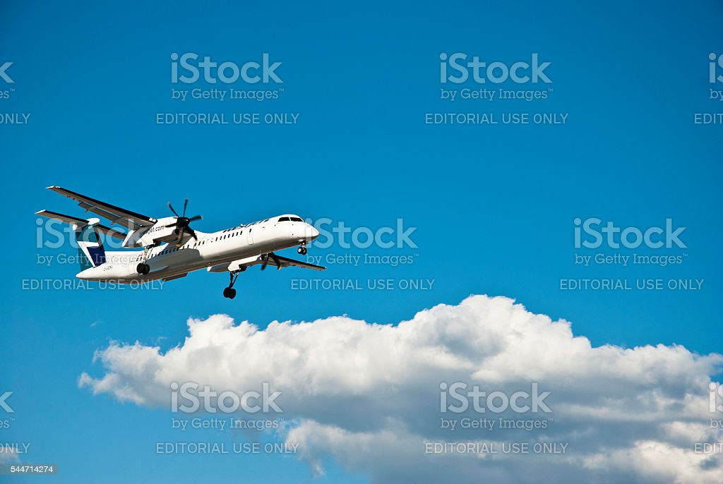 WestJet stock photo