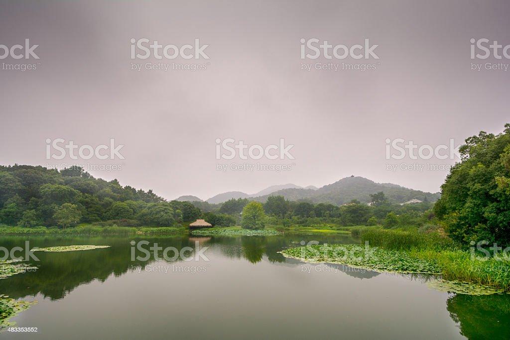 Westlake in Hangzhou, China stock photo
