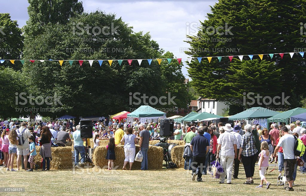 Westleton Barrel Fair stock photo
