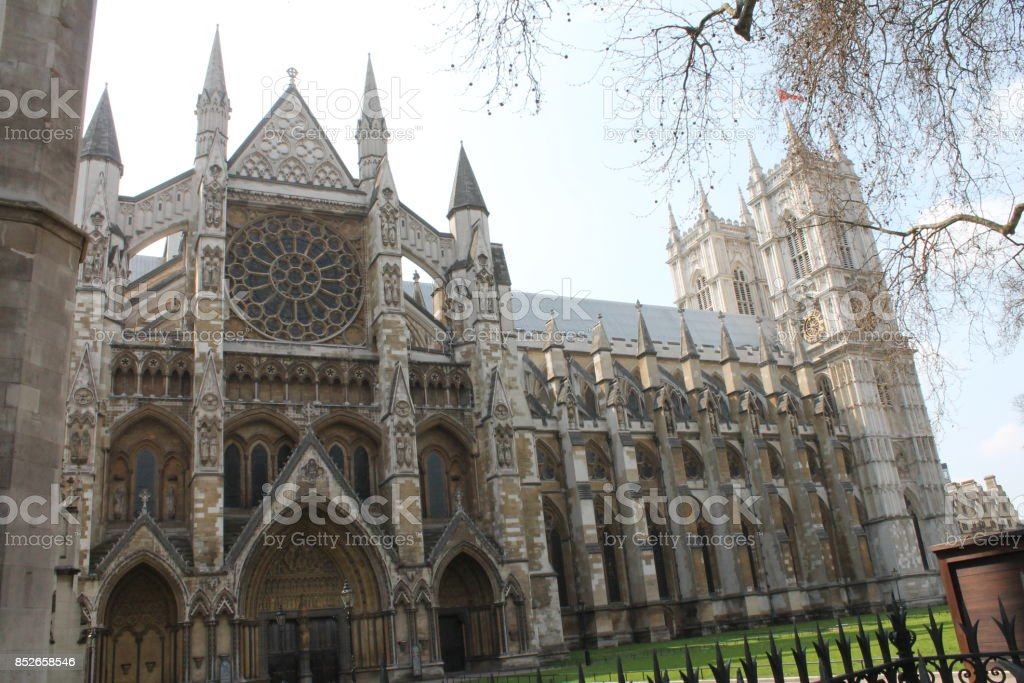 Westminister abbey stock photo