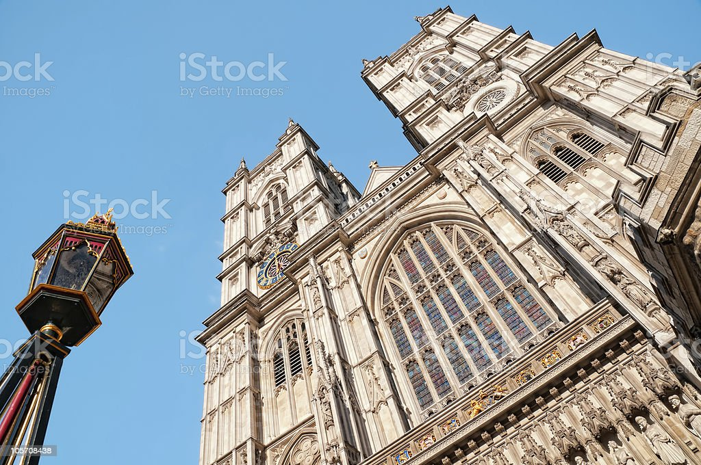 Westminster Abbey, London. royalty-free stock photo