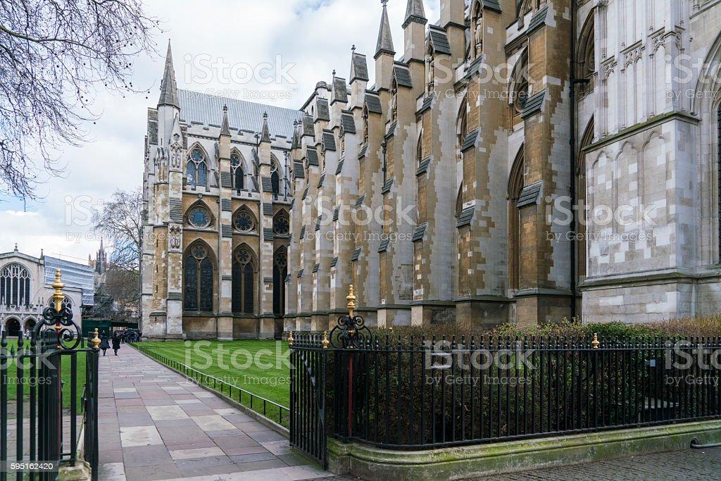 Westminster Abbey, London Lizenzfreies stock-foto