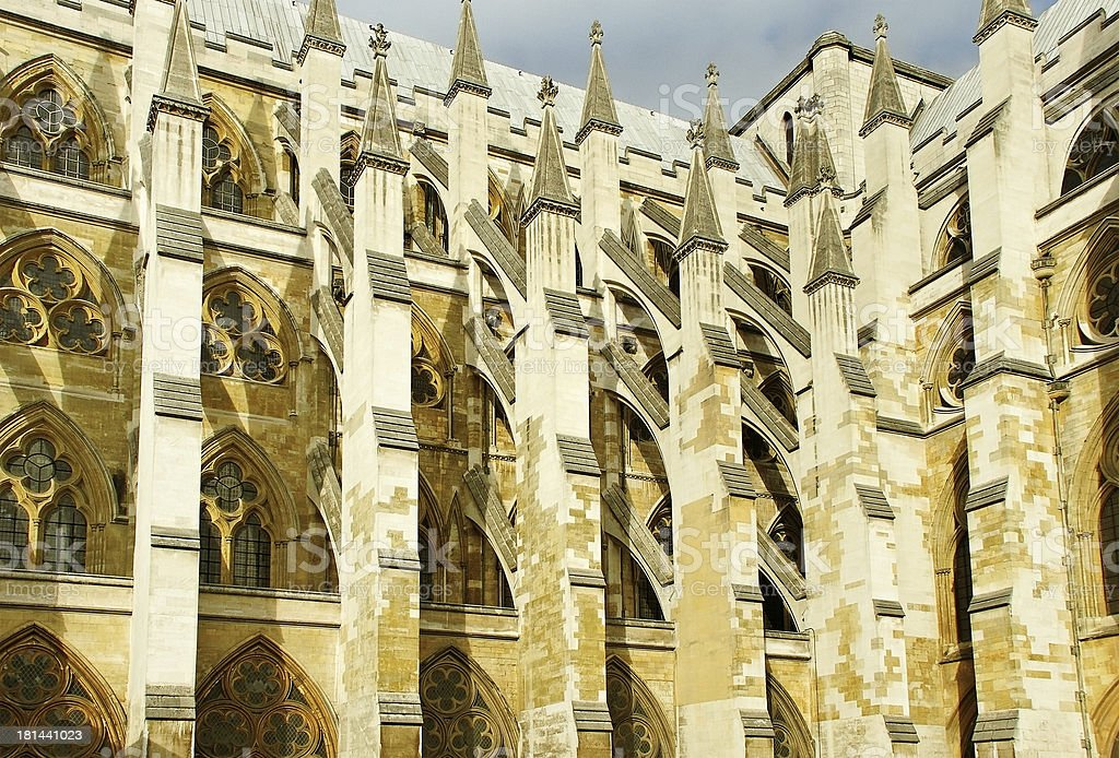 Westminster abbey. royalty-free stock photo