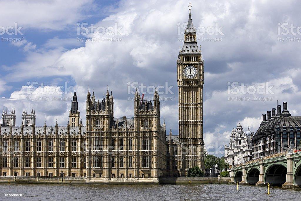 Westminster, Big Ben - London royalty-free stock photo