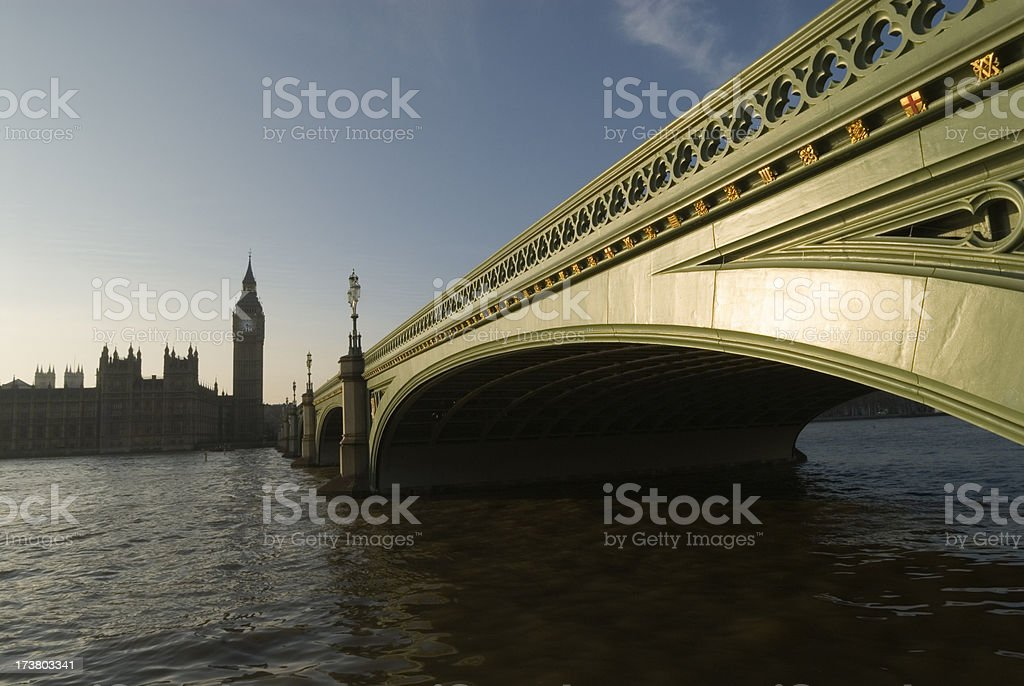 Westminster Bridge. London. stock photo
