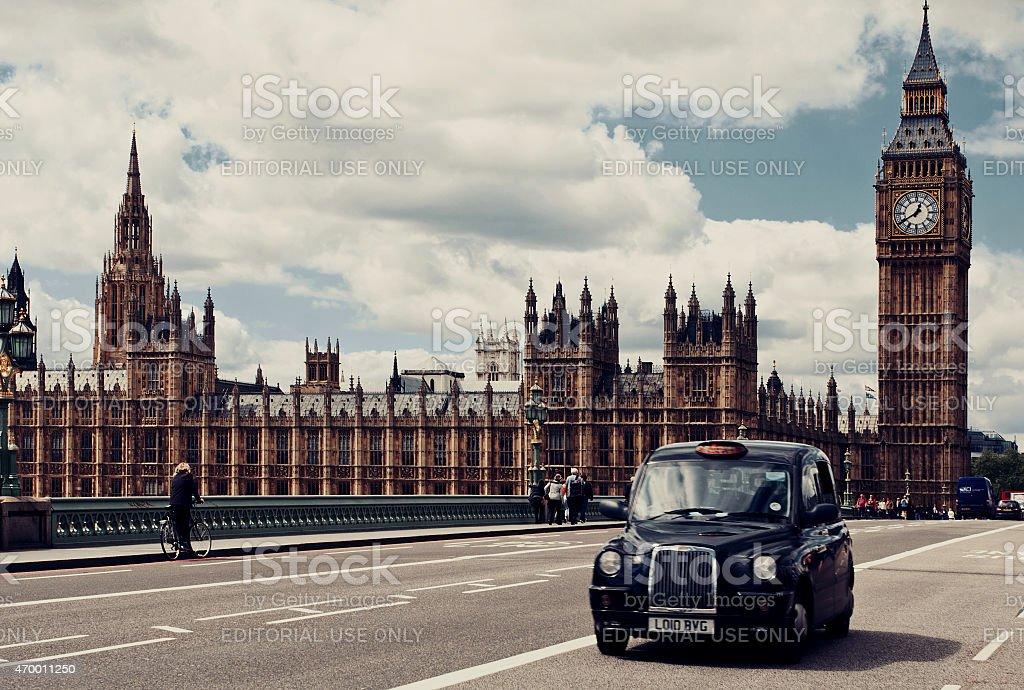 Westminster Bridge. London stock photo