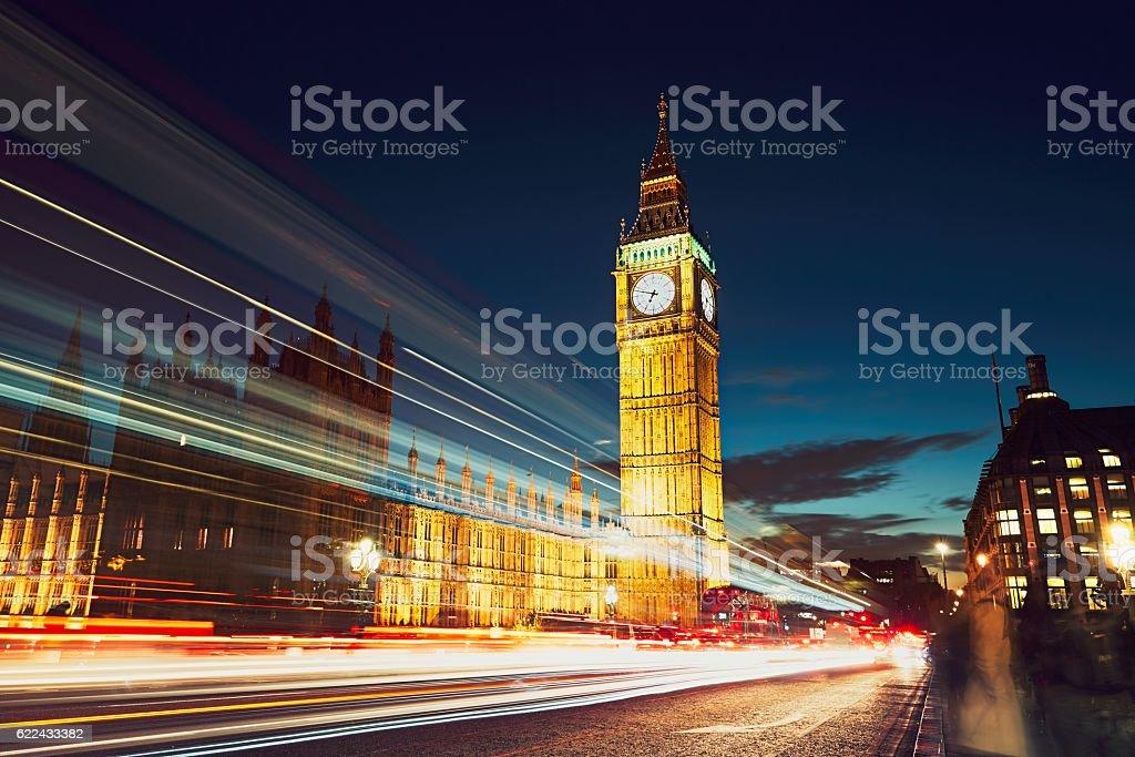 Westminster bridge stock photo