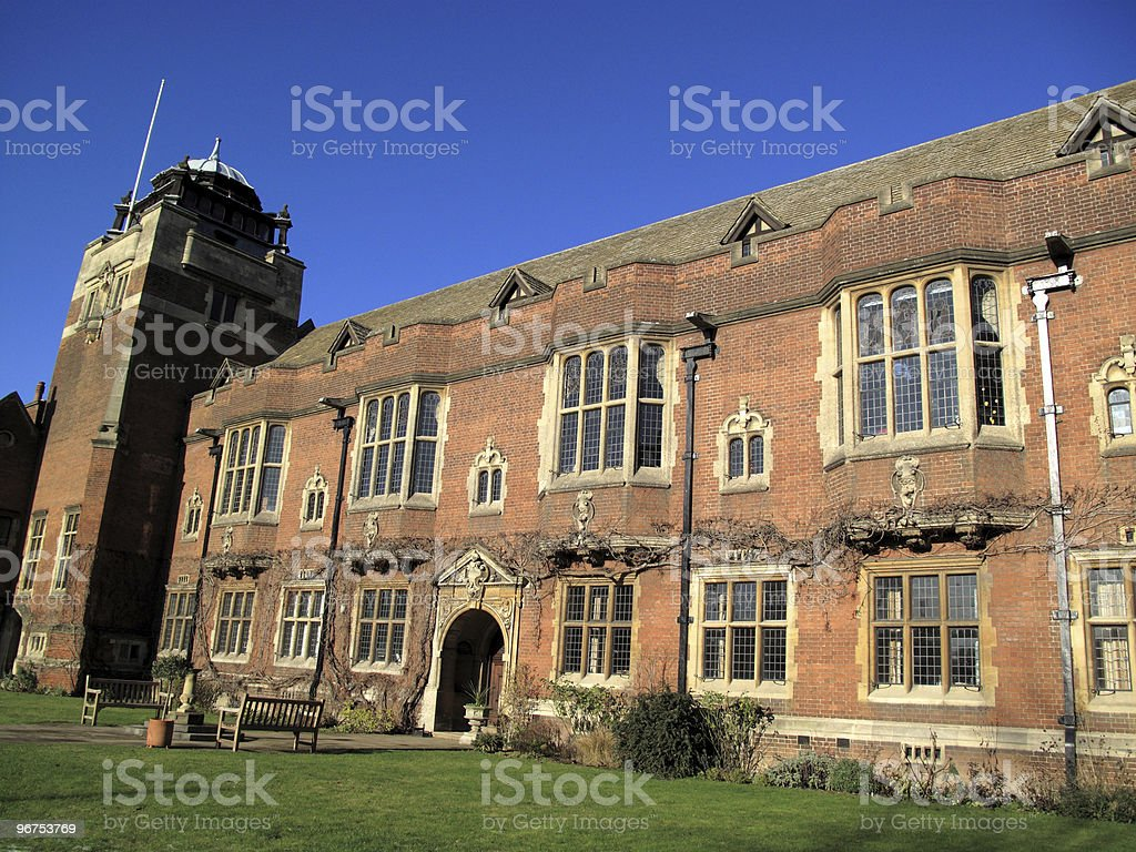 Westminster College Cambridge University stock photo