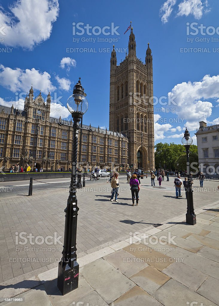 Westminster, Houses of Parliament, London royalty-free stock photo