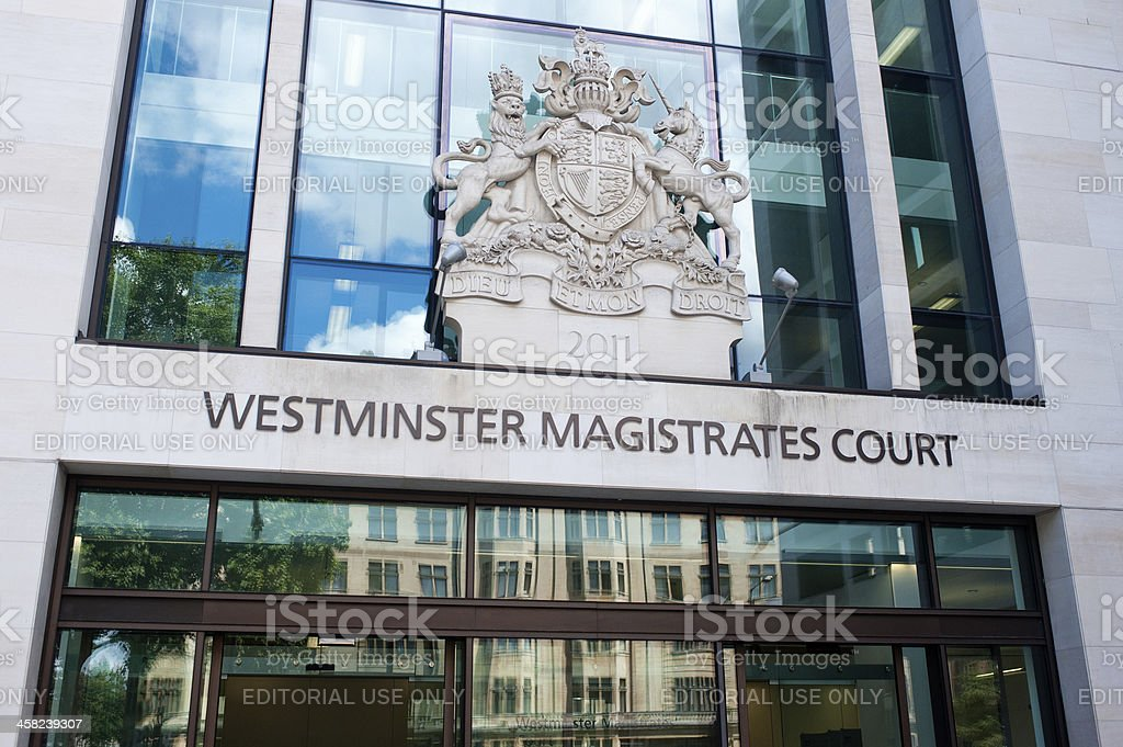 Westminster Magistrates' Court stock photo