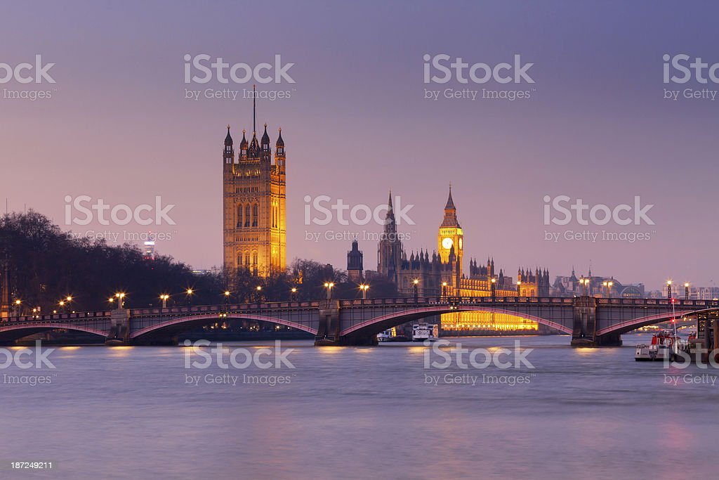 Westminster Palace stock photo