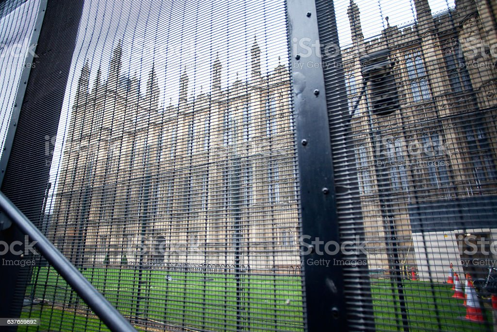Westminster parliament abstract stock photo