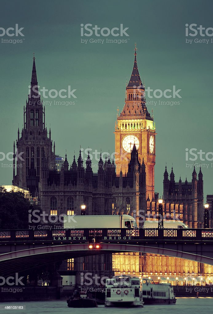 Westminster stock photo