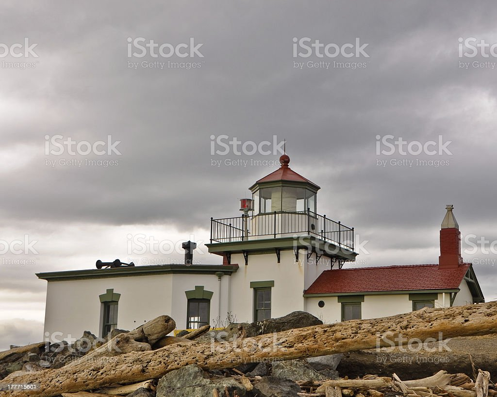 Westpoint Lighthouse royalty-free stock photo