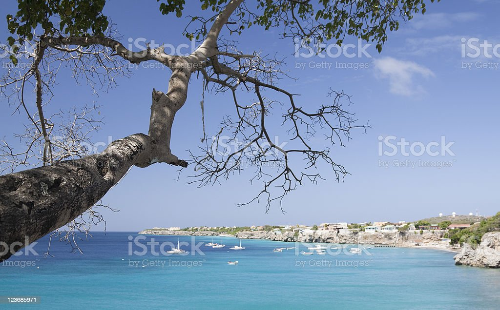 Westpoint on Curacao stock photo