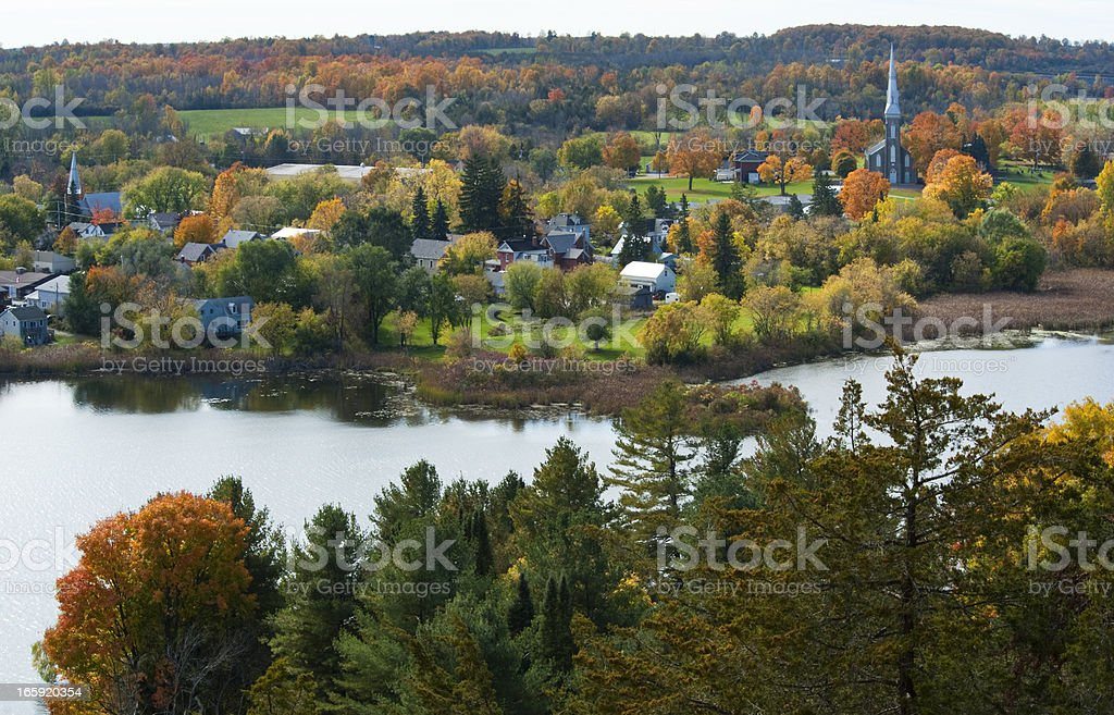 Westport Eastern Ontario Series stock photo
