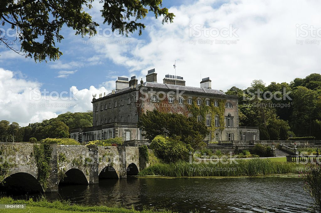 Westport House. Co Mayo. Ireland stock photo