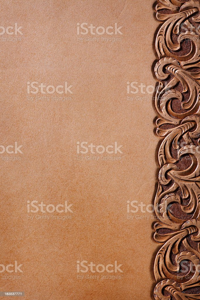 Westrn Style Leather royalty-free stock photo