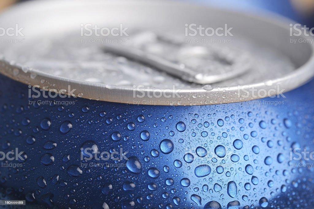 wet aluminium can royalty-free stock photo