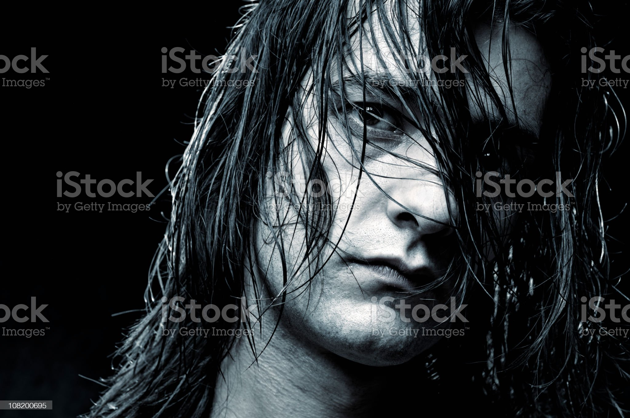 Wet and Wild royalty-free stock photo