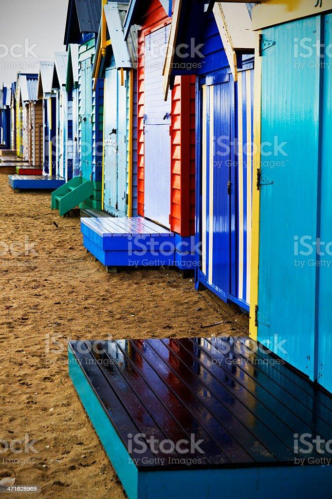 Wet bathing boxes royalty-free stock photo