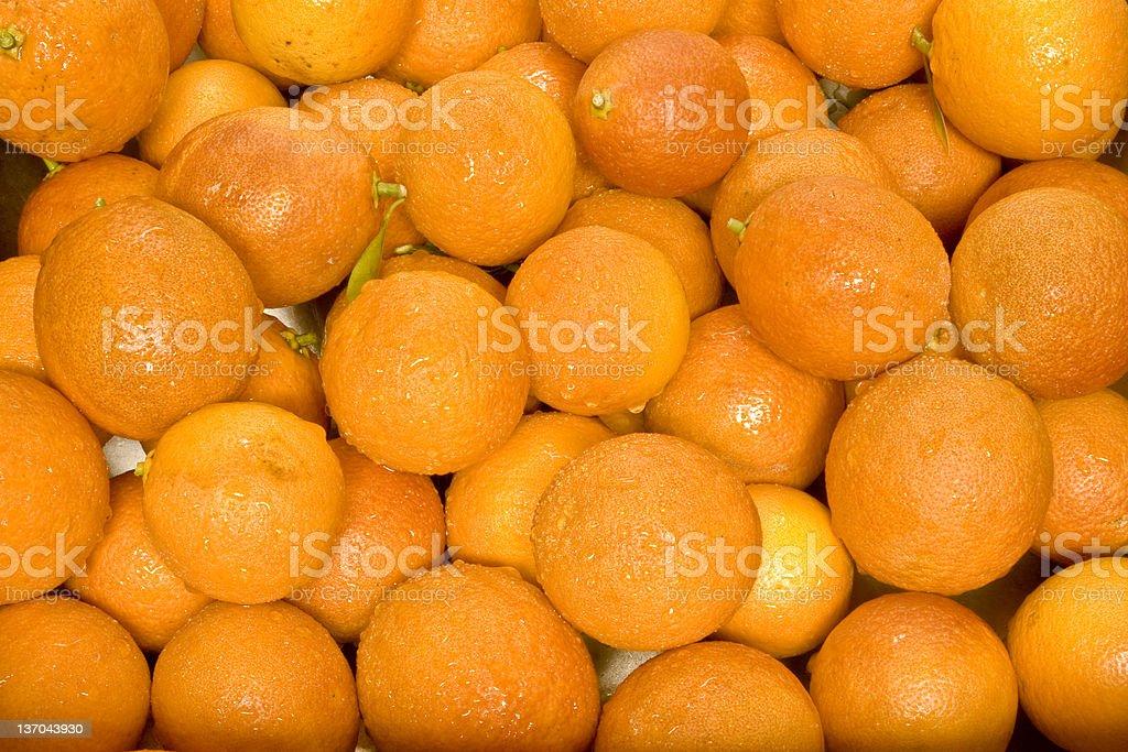 Wet Blood Oranges Background royalty-free stock photo