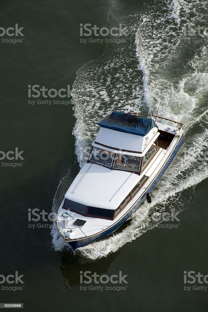 Wet Boat royalty-free stock photo