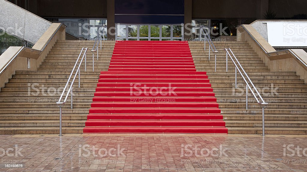 Wet Carpet royalty-free stock photo