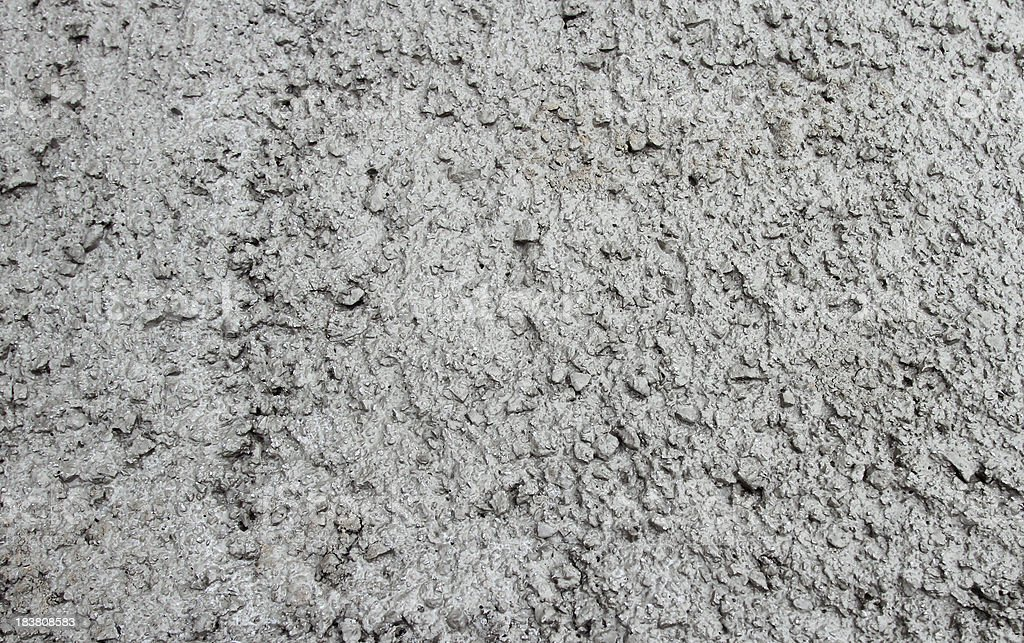Wet Cement royalty-free stock photo