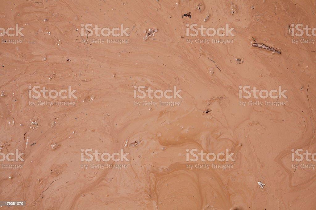 Wet Clay Texture stock photo